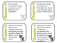 Christopher Mouse by William Wise Comprehension and Vocabulary Task Cards