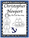 Christopher Newport Biography Book and Comprehension Sheet