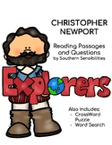 Christopher Newport Close Reading Passage and Questions