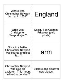 Christopher Newport Flashcards