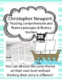 Christopher Newport fluency and comprehension leveled passage