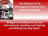 "Christopher P. Curtis's ""The Watsons Go to Birmingham""  - 30 Common Core Tasks!!"