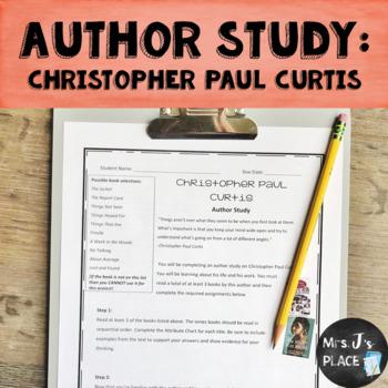 Christopher Paul Curtis Author Study Bundle