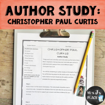 Author Study: Christopher Paul Curtis