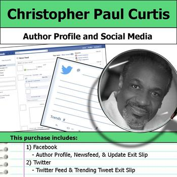 Christopher Paul Curtis - Author Study - Profile and Social Media
