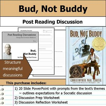 Christopher Paul Curtis Literature Unit - The Watsons & Bud, Not Buddy