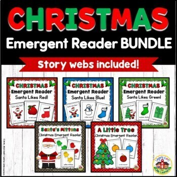 Christmas Emergent Reader Bundle