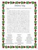 Christmas Word Search Freebie