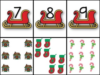 Christsmas Number Match 1-12