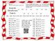 Christtmas Carol Single Digit Multiplication Secret Code #2 with Bonus QR Code