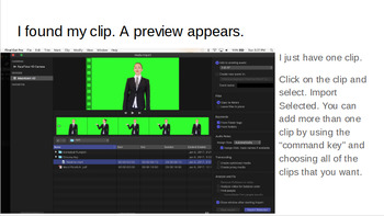 Chroma Keying Green Screen Footage with Final Cut Pro X Version 10.3.1