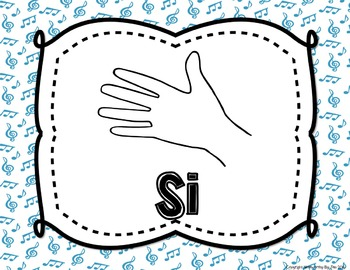 Chromatic Solfege Posters {Curwen Hand Signs--Rainbow Colors, TWO sizes}