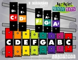 Boomwhackers Color-Coded Chromatic Xylophone