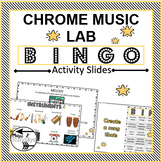 Chrome Music Lab Bingo Activity for Music on a Cart or Rem