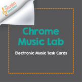 Chrome Music Lab | Online Music Task Cards [Distance Learning]