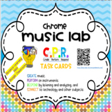 Chrome Music Lab Task Cards -Distance Learning