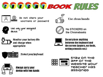 Image result for chromebook care rules