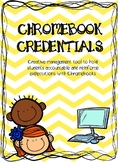 Chromebook Credentials | Editable | Target Adhesive Labels