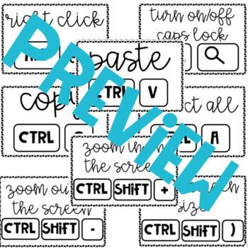Chromebook Keyboard Shortcuts