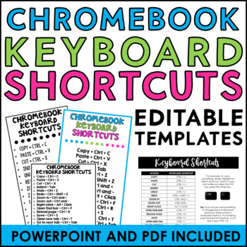 Chromebook Keyboard Shortcuts Tags