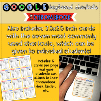 Chromebook Keyboard Shortcuts for Google