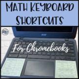 Chromebook Math Keyboard Shortcuts