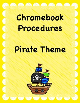 Chromebook Rules- Pirate Theme