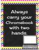 Chromebook Rules Bright Colors