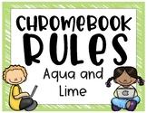 Chromebook Rules (Brights)