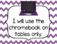 Chromebook Rules Posters