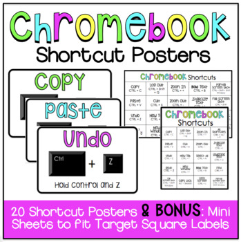 Chromebook Shortcut Posters