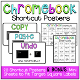BRIGHT Chromebook Shortcut Posters {Now includes TARGET po