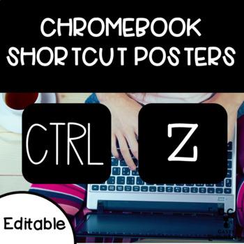 Chromebook Shortcut Posters