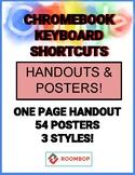 Chromebook Shortcut Posters & Handout