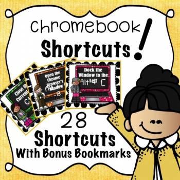 Chromebook Shortcuts - Kidlettes Edition!