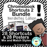 Chromebook Shortcuts and Posters Bundle - Nerdlettes Edition!