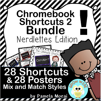 Chromebook Shortcuts - Nerdlettes Edition!