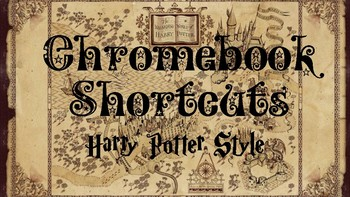 Chromebook Shortcuts: Harry Potter Style