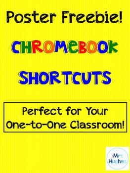Chromebook Shortcuts POSTER FREEBIE!