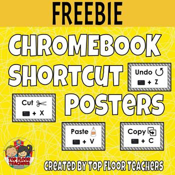 Free Chromebook Shortcut Posters