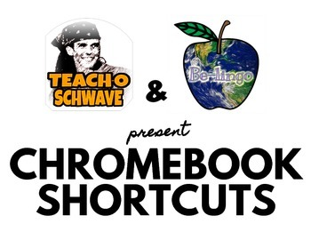 Chromebook Shortcuts in English and Spanish