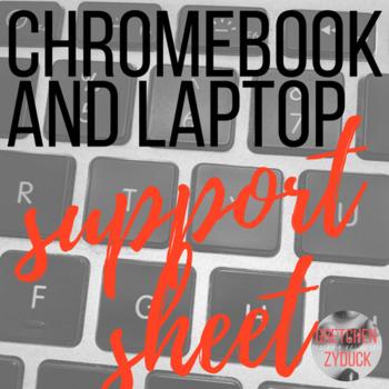 Chromebook Support / Help Sheet