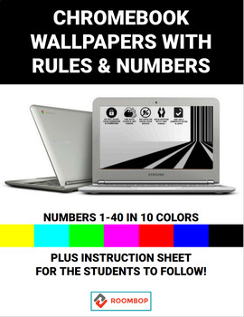 Chromebook - Wallpapers with Rules & Numbers