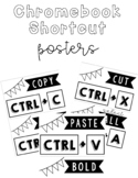 Chromebook and Computer Keyboard Shortcut Posters