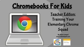 Google 1:1 Chromebooks For Kids - Training Kids to Use Their New Chromebooks