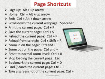 Chromebooks: Keyboard Shortcuts
