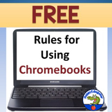Chromebooks Rules for the Classroom FREE