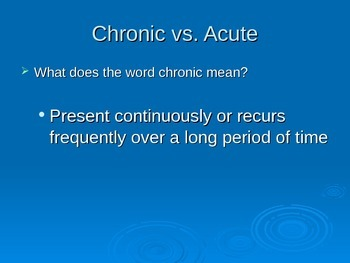 Chronic Diseases Ppt2