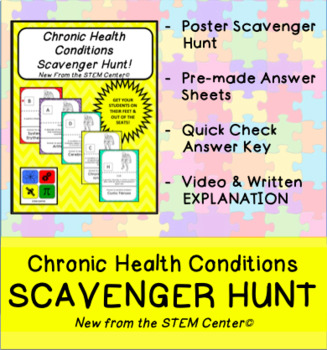 Chronic Health Conditions Scavenger Hunt