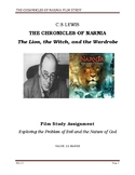 Chronicles of Narnia- Film Study Worksheet + ANSWERS (for